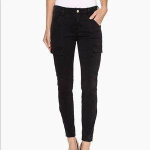 J Brand Houlihan Skinny Cargo Pants in Black